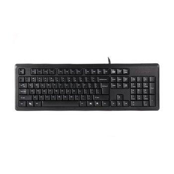 Клавиатура A4Tech KR-92, черна, USB image