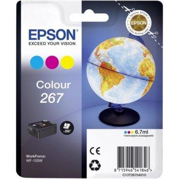Мастило за Epson WF-100W - C13T26704010 - C/Y/M - 6.7ml image
