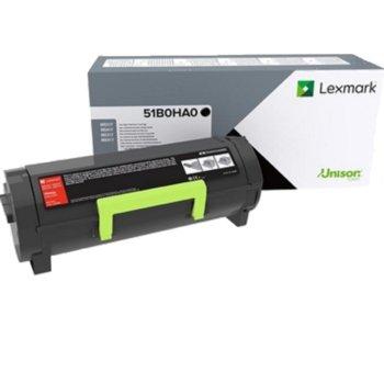 Касета за Lexmark MS417dn, MX417dn, MS517dn, MX517de, MS617dn, MX617de - Black - MS/MX417- P№ 51B0HA0 - Заб.: 8 500k image
