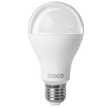 LED крушка (топла светлина) INGCO HLBACD292 9W image