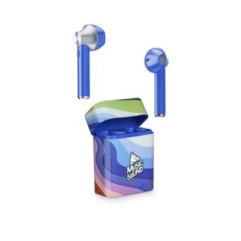 Слушалки Cellularline Music Sound (IT6225), безжични, микрофон, цветни image