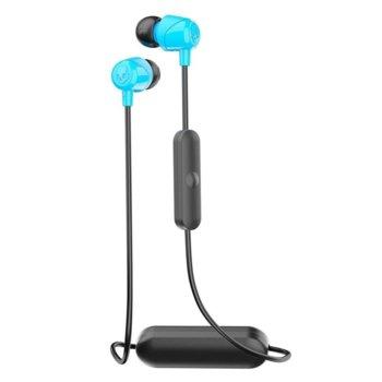 Слушалки Skullcandy Jib Wireless, безжични, микрофон, Bluetooth, черен/син image