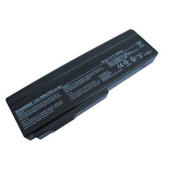 Батерия (заместител) за ASUS G50, съвместима с G60/L50/M50/M60/X55/X57/N52/N53/N61, 9cell, 11.1V, 6600mAh image