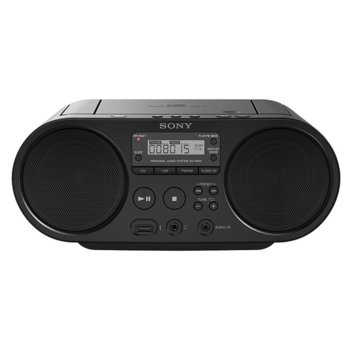Радио Sony ZS-PS50, CD-R/RW, MP3, black image