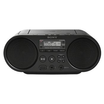 Радио Sony ZS-PS50, CD-R/RW, MP3, black image