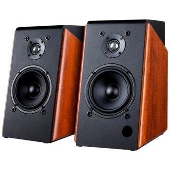 Тонколони Fenda F&D R60BT, 2.0, 120(60x2)W, Bluetooth 4.0, USB, 3.5mm жак, optical, кафяво-черни,  image
