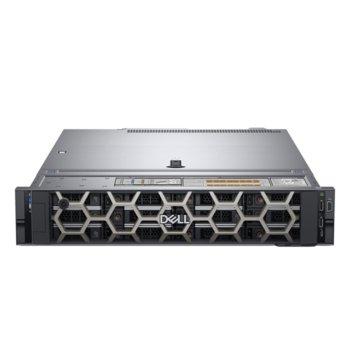 Сървър Dell PowerEdge R540 (PER540CEE03), десетдрен Skylake Intel Xeon Silver 4114 2.2/3.0 GHz, 16GB DDR4 RDIMM, 240GB SSD, 2x 1GbE LOM, 2x USB 3.0, без ОС, 1x 750W image