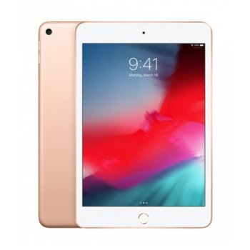 "Таблет Apple iPad Mini 5 (MUX72HC/A)(златист), LTE, 7.9"" (20.07 cm), осемядрен Apple A12 Bionic, 3GB RAM, 64GB Flash памет, 8.0 & 7.0 MPix камера, iOS, 300g image"