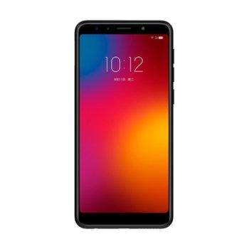 "Смартфон Lenovo K9 PADV0036CN (черен), поддържа 2 sim карти, 5.7"" (14.48 cm) IPS LCD дисплей, осемядрен Helio P22 2.0 GHz, 4GB RAM, 32GB Flash памет (+ microSD слот), 13 MPix + 5 MPix & 13 MPix + 5 MPix, Android, 155g image"