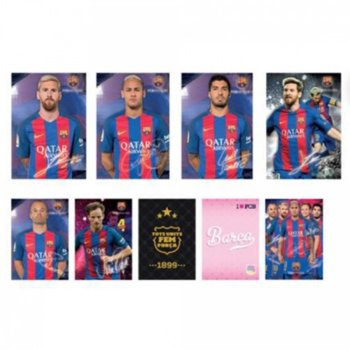 Тетрадка Barcelona 10252, формат А5, oфсетова хартия, 42 листа, телчета image