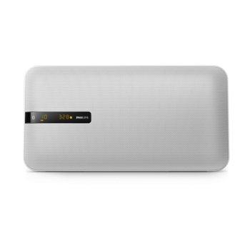 Аудио система Philips BTM2660W, 20W RMS, Микро музикална система, Bluetooth, USB, бяла image