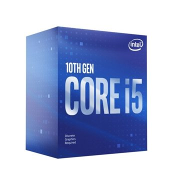 Intel Core i5-10400F 2.9/4.3 GHz Box product
