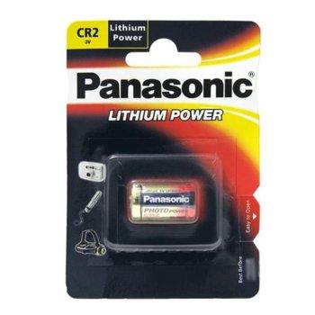Батерия литиева Panasonic CR2, 3V, 850mAh, 1 брой image