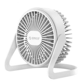 Вентилатор за бюро Orico FT1-2-WH-PRO, 1,5W, 112 см, Micro USB, бял image