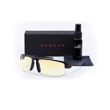 Комплект Gunnar Torpedo Onyx Case Promo Pack, очила/калъф/почистващ спрей, гейминг, черни image