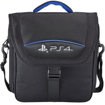 Чанта за конзола Big Ben Travel Case, за PS4 и PS4 Pro, отделение за геймпадове, черен image