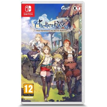 Игра за конзола Atelier Ryza: Ever Darkness & The Secret Hideout, за Nintendo Switch image