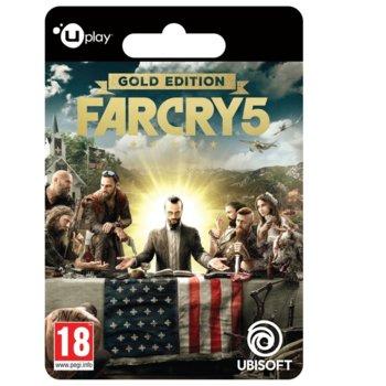 Игра Far Cry 5 Gold Edition (електронна доставка), за PC image