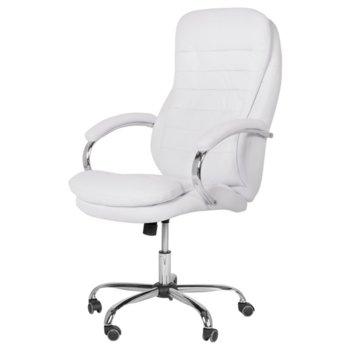 Директорски стол Carmen 6113, бял image