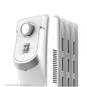 Маслен радиатор Cecotec Ready Warm 5750 Space, 1500 W, 3 степени на мощност, технология WarmSpace, за помещения до 15m2, защита от прегряване, сензор за защита срещу преобръщане, бял image