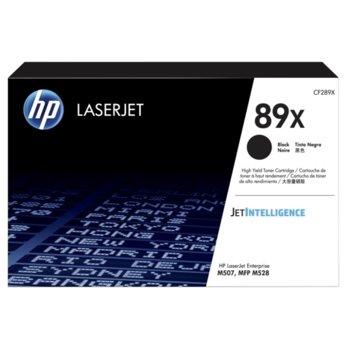 Тонер касета за HP LJ M507/HP LJ MFP M528, Black, - CF289X - HP - Заб.: 10000 к image