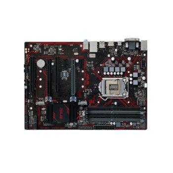 Дънна платка Asus PRIME B250-PLUS, B250, LGA 1151, DDR4, 2x PCI-E 3.0(HDMI/DVI/D-Sub)(CrossFireX), 6x SATA 6Gb/s, 2x USB 3.0, 2x M.2 Sockets, ATX image