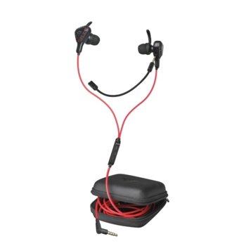 Слушалки Trust GXT 408 Cobra, микрофон, 1,2 m кабел, дистанционно, черни image