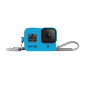 Калъф GoPro Sleeve + Lanyard Bluebird за HERO8 Black, с връзка, син image
