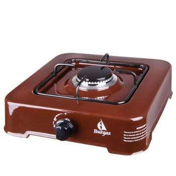Газов котлон Burgas 101 brown, пропан-бутан, разход на газ: 0.138 кг/ч, 1,9kW, кафяв image