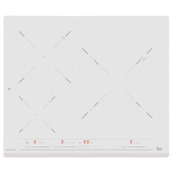 Стъклокерамичен плот за вграждане Teka IZ 6320, 3 нагревателни зони, защита за деца, функция iCooking, функция Stop & Go, бял image