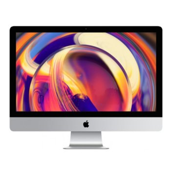 "All in One компютър Apple iMac (MRT42ZE/A), 21.5"" (54.61 cm) 4K Retina дисплей, шестядрен Coffee Lake Intel Core i5-8500 3.0/4.10 GHz, AMD Radeon Pro 560X 4GB, 8GB DDR4, 1TB SSHD, 2x Thunderbolt 3, клавиатура и мишка, macOS Mojave image"