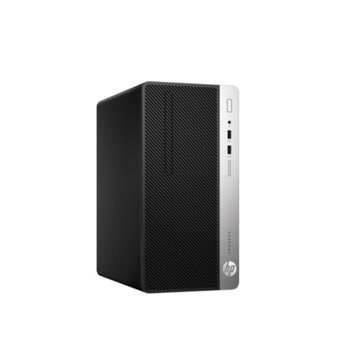 Настолен компютър HP ProDesk 400 G6 MT (7EL74EA), шестядрен Coffee Lake Intel Core i5-9500 3.0/4.4 GHz, 8GB DDR4, 256GB SSD, 4x USB 3.1, клавиатура и мишка, Windows 10 Pro image