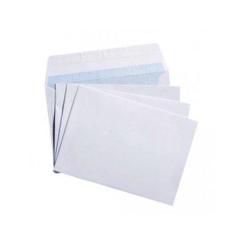 Пощенски плик, размер C6 114x162mm, бял, 25бр. в опаковка image