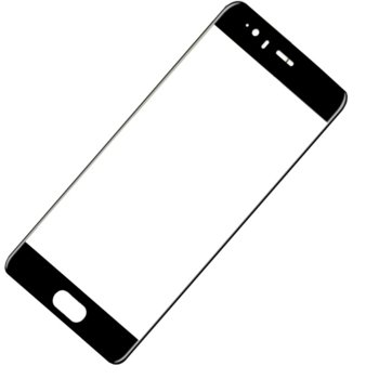 Протектор от закалено стъкло /Tempered Glass/, за Huawei Mate 20, черна рамка image