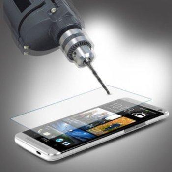 Протектор от закалено стъкло /Tempered Glass/ за HTC One M7, прозрачно image
