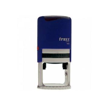 Автоматичен печат Traxx 9025 син, Ф45 mm, кръгъл image