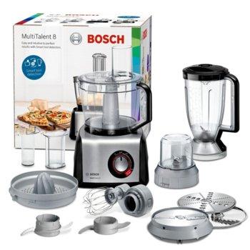 Кухненски робот Bosch MC812M844, 50 функции, Supercut острие, 1250W, черен image