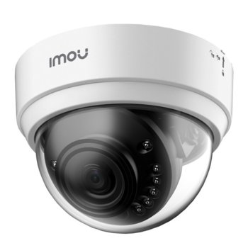IP камера Dahua Imou Dome Lite IPC-D22, безжична, куполна камера, 2MP (1920x1080@30fps), 2.8mm обектив, H.265/H.264, IR осветление (до 20m), LAN, Wi-Fi, microSD слот image