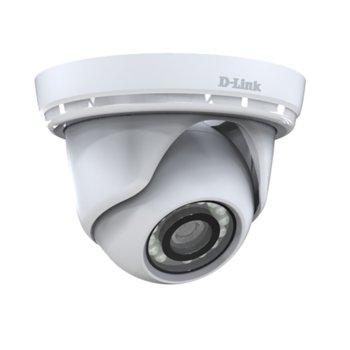 IP камера D-Link DCS-4802E, куполна, 2 Mpix(1920x1080@60fps), 2.8mm обектив, H.264/MJPEG, IR осветеност (до 30 метра), външна, IP66 защита, PoE, RJ-45 10/100 Base-TX image