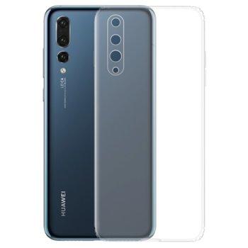 Калъф за Huawei P20 Pro, силиконов гръб, силикон, прозрачен image