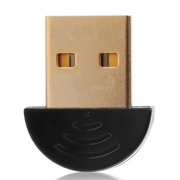 Адаптер Bluetooth USB Dongle, Bluetooth 5.0, до 25Mbps, черен image