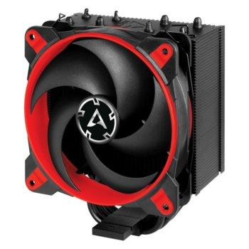 Охлаждане за процесор Arctic 34 eSports Red ACFRE00056A, съвместимост със сокети LGA2066/2011-3/2011-0/1151/1150/1155/1156 & AM4 image