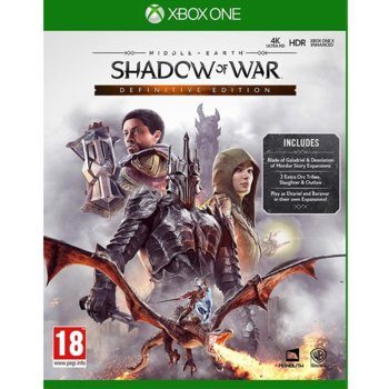 Игра за конзола Middle-earth: Shadow of War - Definitive Edition, за Xbox One image