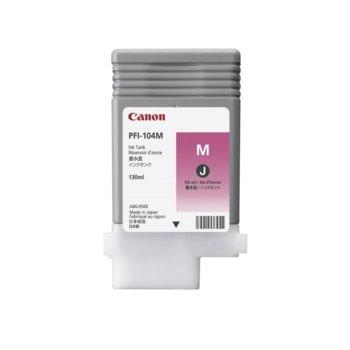 Касета за Canon iPF650/655/750/755 - Magenta - PFI-104 - P№ 3631B001 - 330ml image