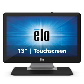 "Тъч Монитор Elo E683396 ET1302L-2UWA-1-WH-G, 13.3"" (33.78 cm) TFT панел, Full HD, 25 ms, 300 cd/m2, HDMI, VGA, USB-C, 3.5 mm audio jack image"