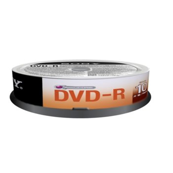 Sony DVD-R 10 spindle 16x product