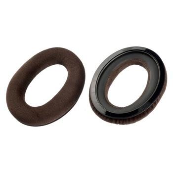 Наушници Sennheiser HD 599, възглавнички за уши, съвместими с Sennheiser HD 599 както и HD 598, кафяв, от велур image