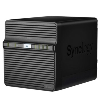 "Мрежови диск (NAS) Synology DiskStation DS418j в комплект с 4x Seagate IronWolf NAS 2TB, двуядрен Realtek RTD1293 1.4GHz, без твърд диск (4x SATA 2.5""/3.5"" HDD/SSD), 1GB DDR4 RAM, 1x LAN10/100/1000, 2x USB A 3.0 image"