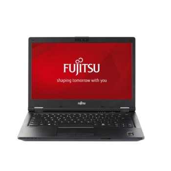 "Лаптоп Fujitsu Lifebook E449 (S26391-K483-V100_256_I7), четириядрен Kaby Lake R Intel Core i7-8550U 1.8/4.0 GHz, 14"" (35.56 cm) Full HD Anti-Glare Display, (HDMI), 8GB DDR4, 256GB SSD, 1x USB-C, No OS  image"