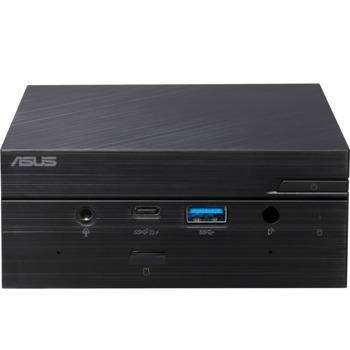 Мини компютър Barebone PC Asus Mini PC (PN50-BBR343MD-CSMD), четириядрен AMD Ryzen 3 4300U 2.7/3.7GHz, DDR4, SATA III, USB-C 3.2 Gen 2, NO OS image